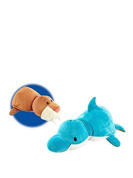 flip-a-zoo-40cm-dolphin-wallrus