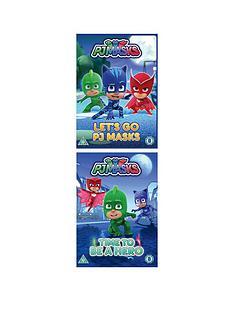 pj-masks-lets-go-pj-mask-amp-time-to-be-a-hero-dvd-set