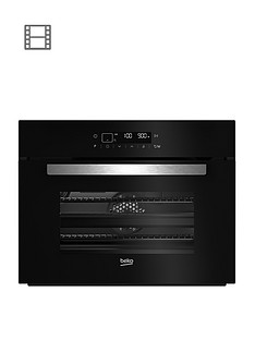 beko-bcw14400b-60cm-built-in-single-electric-oven-black