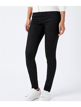 monsoon-nadine-jean-shorter-length-black