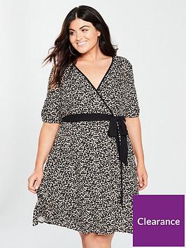 v-by-very-curve-wrap-dress--nbspanimal-print