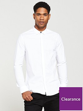 v-by-very-slim-stretch-poplin-shirt