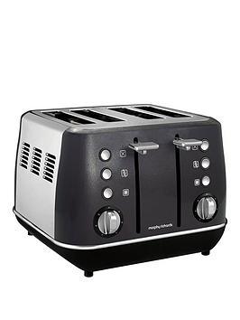 Morphy Richards   Evoke 4 Slice Toaster Black