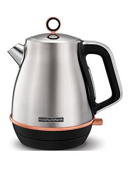 morphy-richards-evoke-jug-kettle-brushed-rose-gold