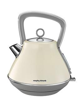 morphy-richards-evoke-pyramid-kettle-cream