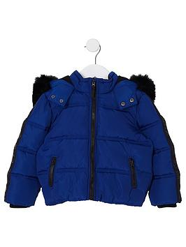river-island-mini-boys-blue-faux-fur-hood-padded-jacket