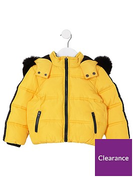 river-island-mini-boys-yellow-faux-fur-hood-padded-jacket