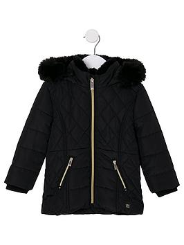 river-island-mini-girls-faux-fur-lined-padded-coat-black