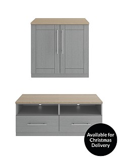 consort-sevillenbsp2-piece-package-ready-assembled-2-door-sideboard-and-tv-unit