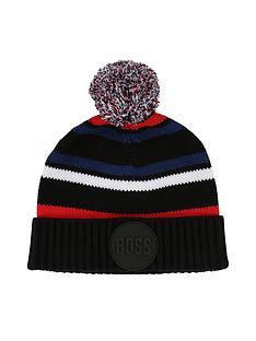boss-younger-boys-stripe-bobble-hat