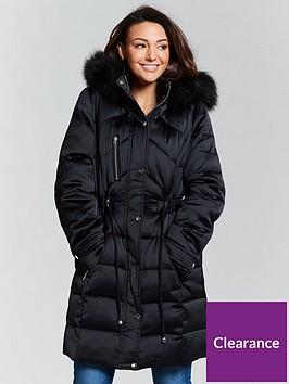 michelle-keegan-premium-padded-long-line-coat-black