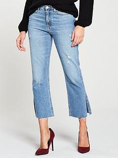 v-by-very-split-hem-crop-kickflarenbspjean-mid-wash