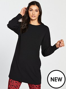v-by-very-wide-cuff-longline-top-black