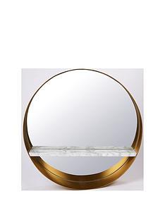 marble-shelf-mirror