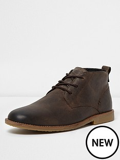 river-island-brown-leather-desert-boot