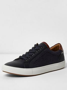 river-island-stowmarket-denim-mix-trainer