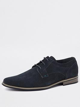 river-island-navy-suede-lace-up-shoes