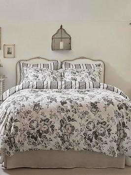 Cabbages & Roses Cabbages & Roses Paris Rose Cotton Percale Duvet Cover Picture