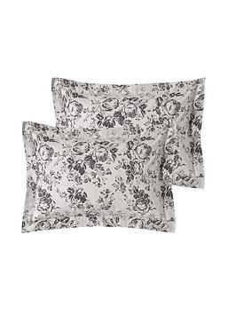 cabbages-roses-paris-rose-100-cotton-percale-oxford-pillowcase-pair