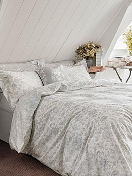 Cabbages & Roses Cabbages & Roses French Toile Cotton Percale Duvet Cover Picture