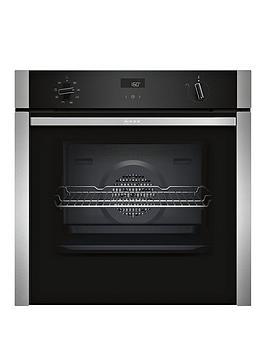 neff-b4acf1an0bnbsp60cm-built-in-slideamphidereg-electric-single-oven-with-circothermreg-stainless-steel