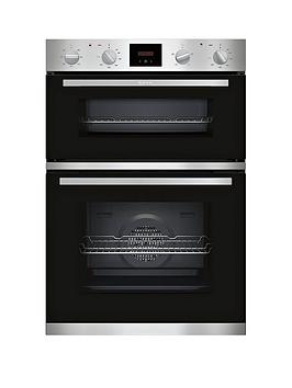 neff-u1hcc0an0b-built-in-double-oven-stainless-steel