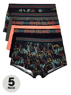river-island-green-floral-print-hipsters-multipack