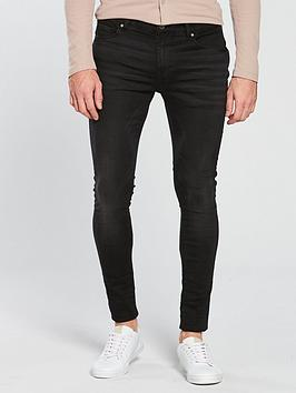 River Island River Island Black Ollie Spray On Jeans Picture