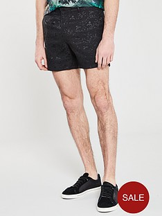 river-island-smart-jacquard-design-short