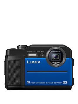 Panasonic Panasonic Lumix Dc-Ft7 Digital Action Camera With 20.4Mp - Blue. Picture