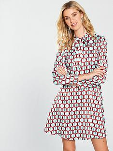 v-by-very-geo-tie-front-printed-tunic
