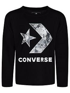 converse-converse-girls-oversized-star-chevron-knit-top