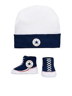 converse-converse-baby-hat-amp-bootie-set