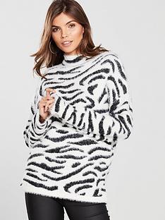 v-by-very-fluffy-zebra-jacquard-jumper-monochrome