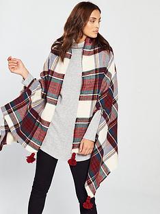 v-by-very-nancy-check-scarf-cape-multi