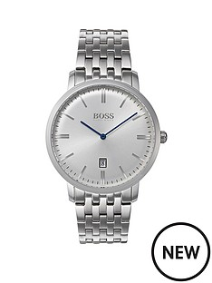 hugo-boss-black-hugo-boss-black-silver-and-blue-detail-dial-stainless-steel-bracelet-mens-watch