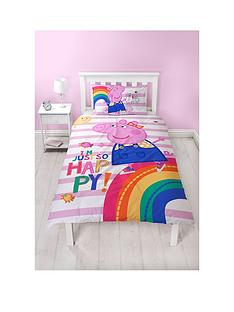 peppa-pig-hooray-striped-single-duvet-cover-set