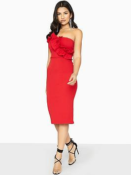 girls-on-film-frill-front-strapless-bodycon-dress-red
