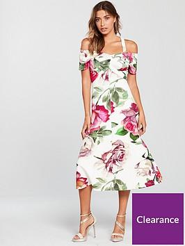 v-by-very-bardot-prom-dress-floral-print