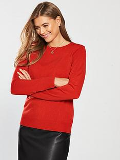 v-by-very-super-soft-crew-neck-jumper-redorangenbsp