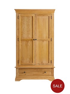 ideal-home-normandy-2-door-1-drawer-wardrobe