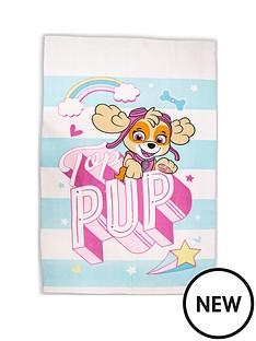 paw-patrol-skye-pastels-fleece-blanket