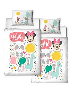 minnie-mouse-reversible-toddler-duvet-cover