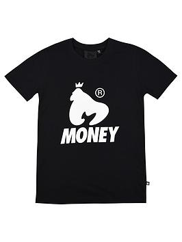 money-boys-black-label-logo-short-sleeve-t-shirt