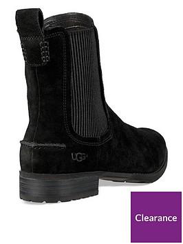 fcfbd86d9 UGG Hillhurst Ankle Boots - Black | littlewoods.com