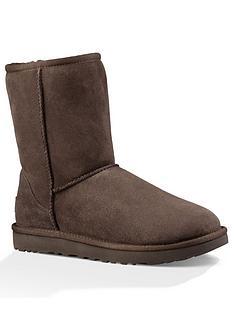 ugg-classic-short-ii-boots-chocolate