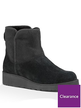 ugg-kristin-suede-ankle-boot-black