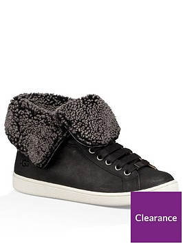 ugg-starlyn-fold-up-or-down-ankle-boots-black