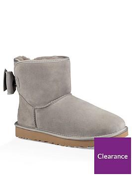ugg-satin-back-bow-back-ankle-boots-grey