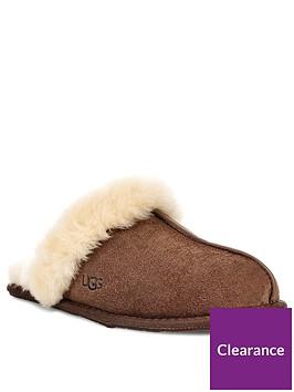 ugg-scuffette-ii-mule-slippers-dark-brown